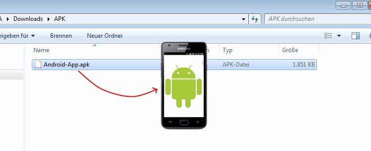 Apk Datei Auf Handy Installieren