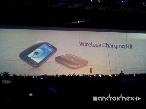 Samsung Galaxy S3 Zubehör: Induktionsladegerät