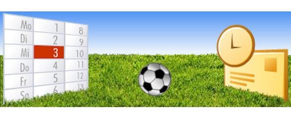 Fußball-WM Spielplan 2010 für Outlook und iCal