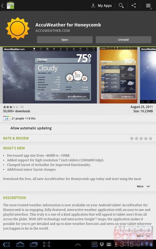tablet market 3.1.5 - 2