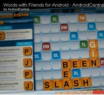 """Words with Friends""-Hands On-Video"