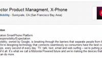 Motorola X Phone: Durch Stellenausschreibung indirekt bestätigt