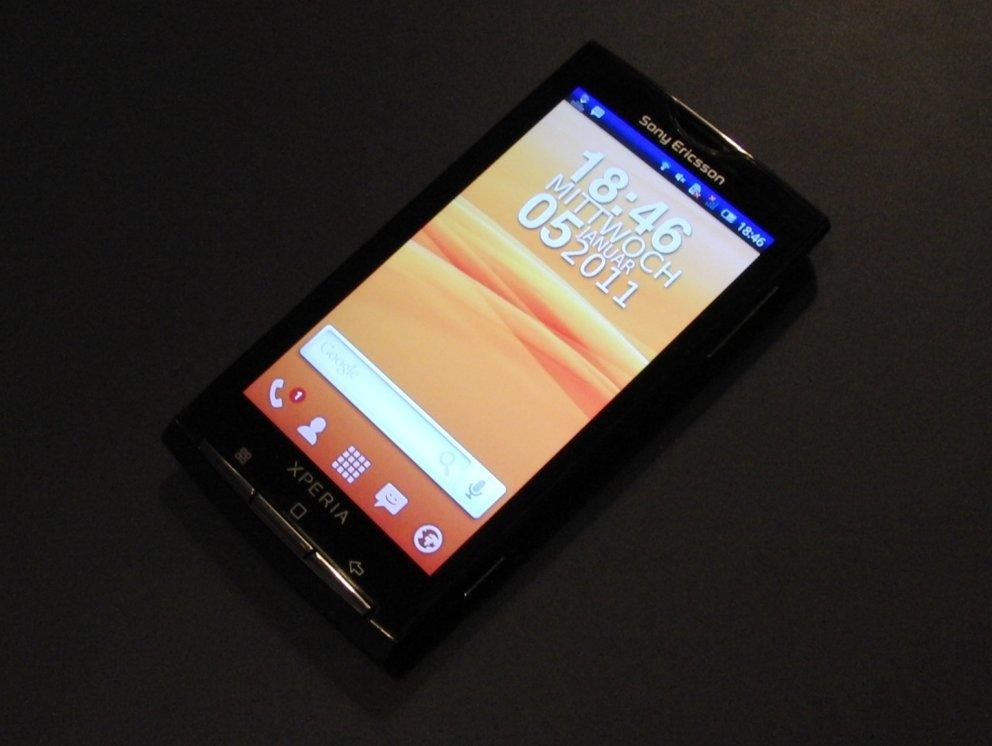 Sony Ericsson Xperia X10: Testbericht zum ersten SE-Androiden