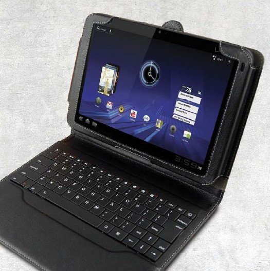 """Motorola Xoom transformiert: Offizielles """"Keyboard-Dock"""" kommt"""