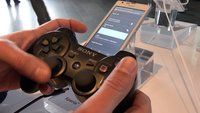 Sony Xperia SP: Kopplung mit dem PS3-Controller im Video [droidcon 2013]
