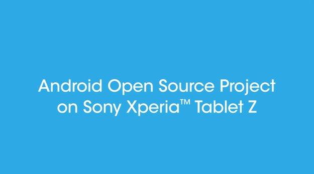 Sony Xperia Tablet Z: AOSP-kompatibler Quellcode veröffentlicht