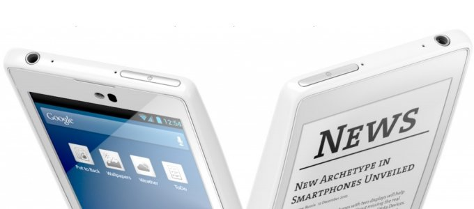 YotaPhone: High-End-Smartphone mit E-Ink-Rückseite vorgestellt