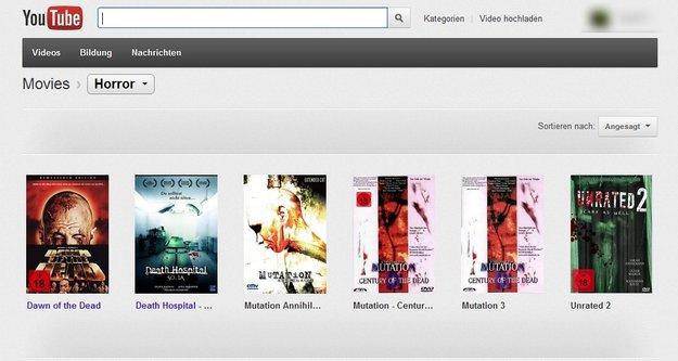 Youtube Movies Deutschland