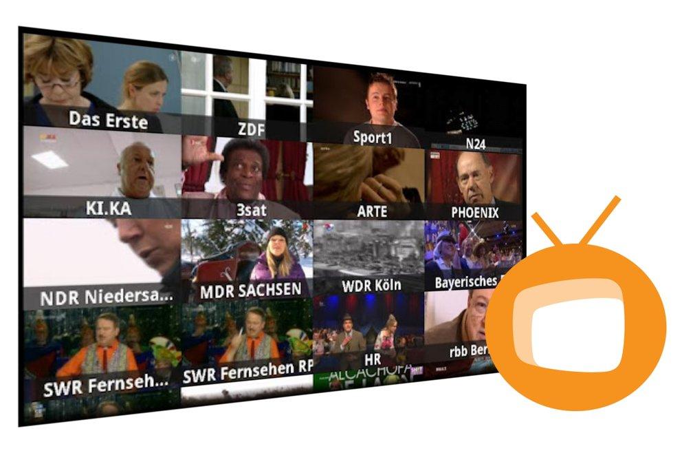 Zattoo: Android-App für TV-Streaming im Market veröffentlicht