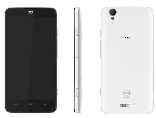 ZTE Geek: Neues Smartphone mit Intel Clover Trail+-CPU vorgestellt