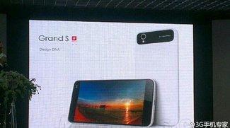 ZTE Grand S: Erste Fotos zeigen sehr schickes Smartphone