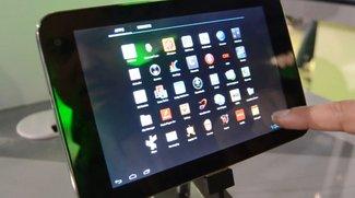 ZTE TT98: Tegra 3-Tablet mit 7 Zoll im Hands-on [CES 2012]
